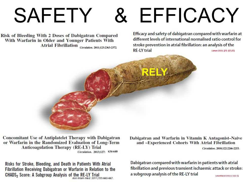 RELY SAFETY & EFFICACY