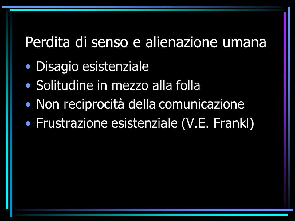 Proprietà del processo di comunicazione 1° assioma: non si può non comunicare 2° assioma.