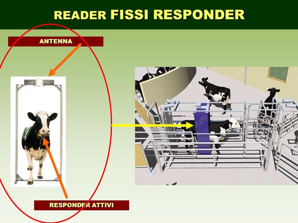 READER FISSI RESPONDER RESPONDER ATTIVI ANTENNA