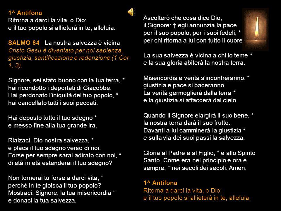 21 APRILE 2015 MARTEDÌ - III SETTIMANA DI PASQUA LODI V.