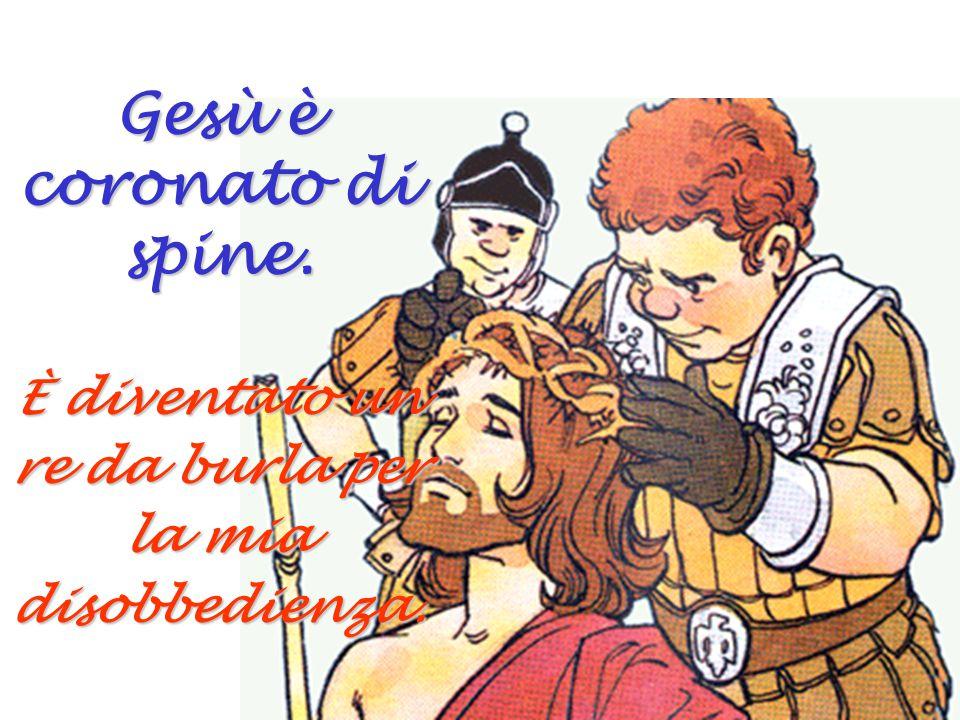 Il Venerdì Santo Gesù viene flagellato. Sono i miei peccati che ti fanno soffrire