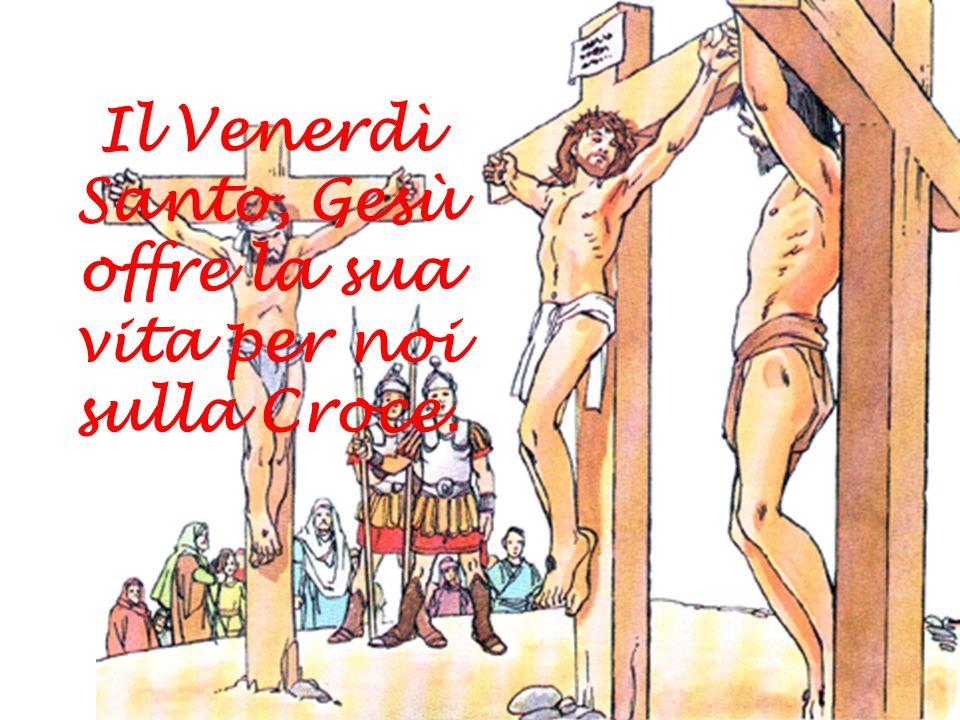 Gesù muore in croce per noi