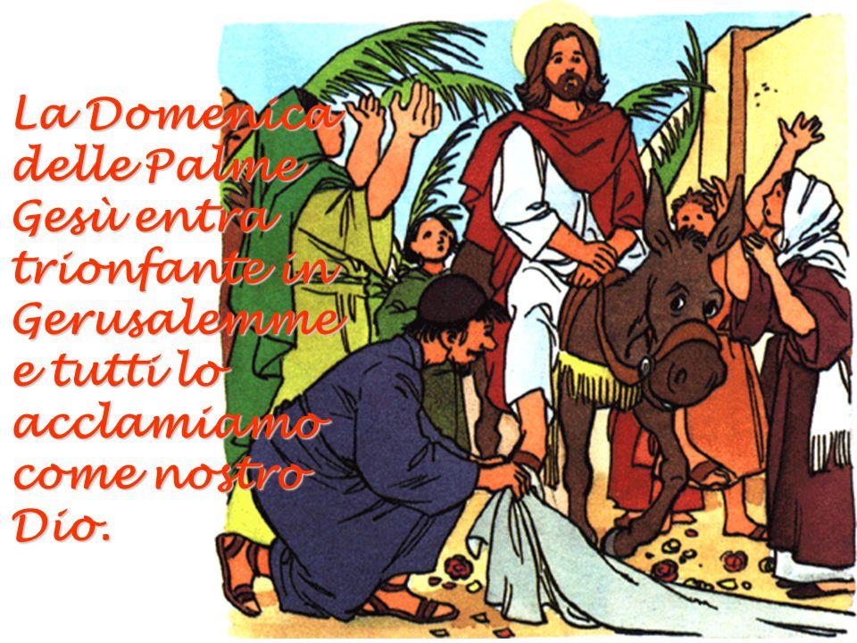 Il Venerdì Santo, Gesù offre la sua vita per noi sulla Croce.