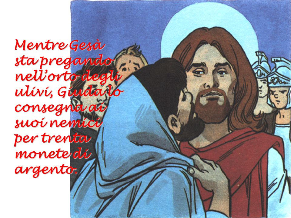 Ci ordina di amarci gli uni gli altri come lui ci ha amato.