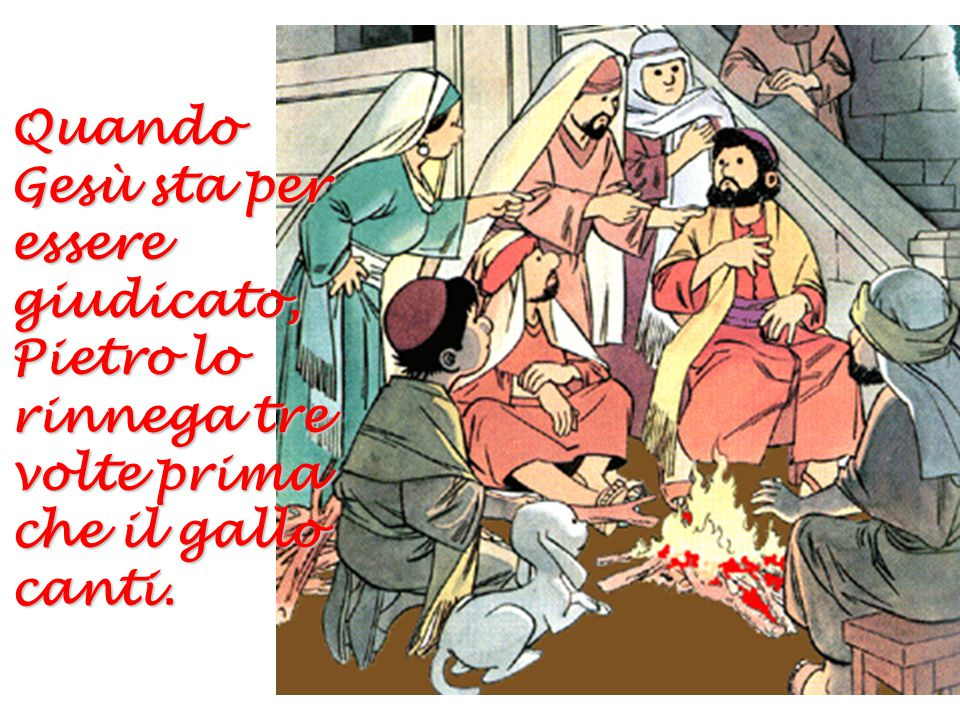 I Sommi Sacerdoti si burlano di Gesù e lo mandano da Pilato perché lo condanni a morte.