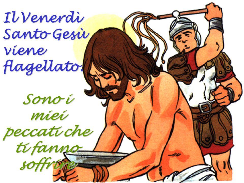 Quando Gesù sta per essere giudicato, Pietro lo rinnega tre volte prima che il gallo canti.