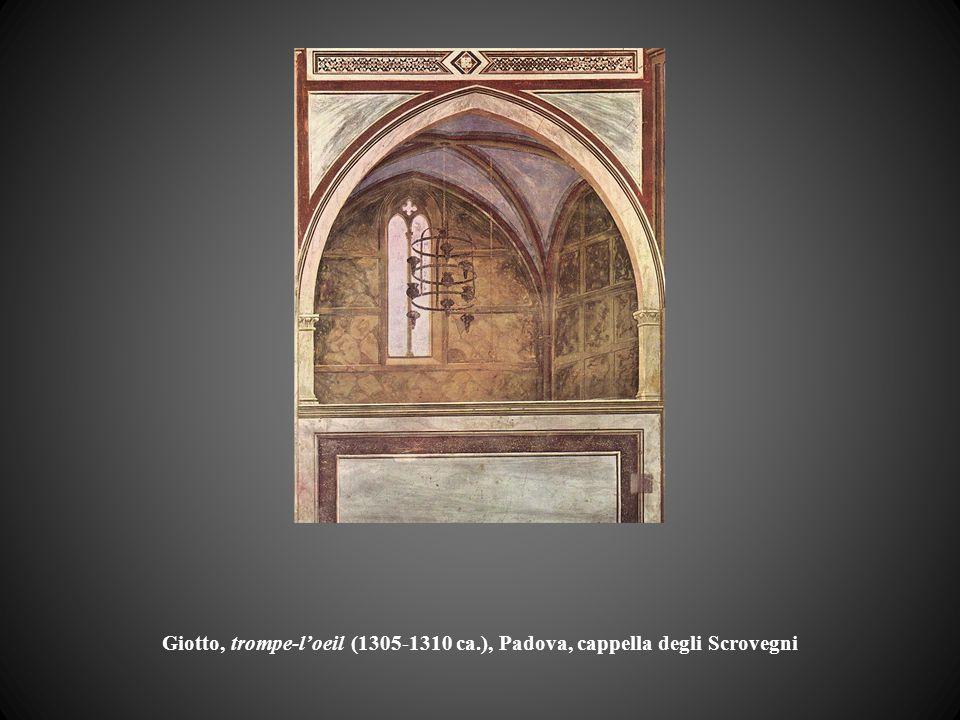 Giotto, trompe-l'oeil (1305-1310 ca.), Padova, cappella degli Scrovegni