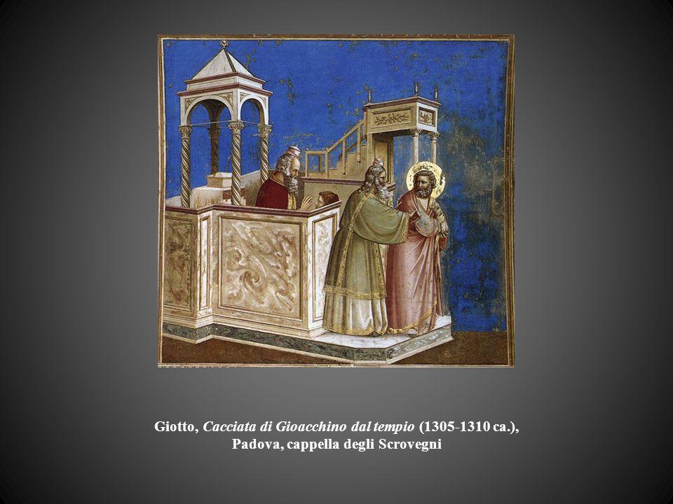 Giotto, Cacciata di Gioacchino dal tempio (1305-1310 ca.), Padova, cappella degli Scrovegni