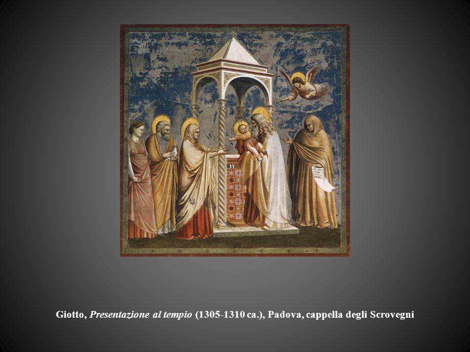 Giotto, Presentazione al tempio (1305-1310 ca.), Padova, cappella degli Scrovegni