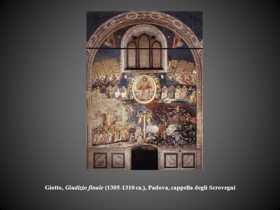 Giotto, Giudizio finale (1305-1310 ca.), Padova, cappella degli Scrovegni