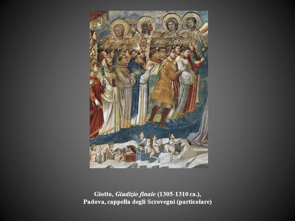 Giotto, Giudizio finale (1305-1310 ca.), Padova, cappella degli Scrovegni (particolare)