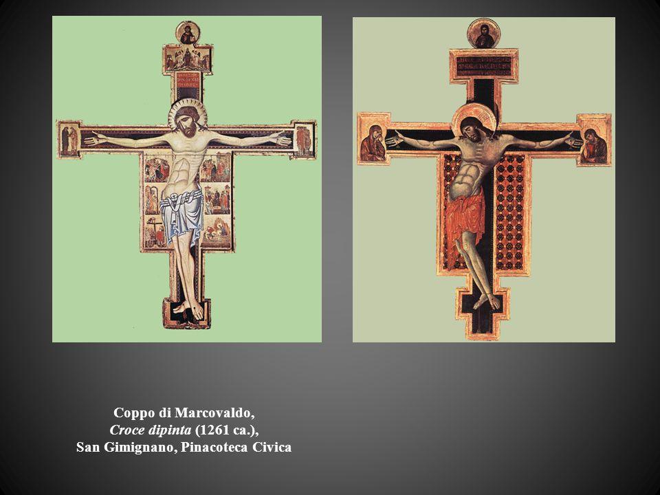 Coppo di Marcovaldo, Croce dipinta (1261 ca.), San Gimignano, Pinacoteca Civica
