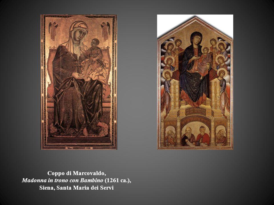 Coppo di Marcovaldo, Madonna in trono con Bambino (1261 ca.), Siena, Santa Maria dei Servi
