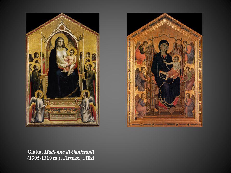 Giotto, Madonna di Ognissanti (1305-1310 ca.), Firenze, Uffizi