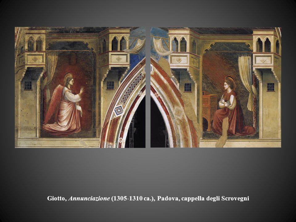 Giotto, Annunciazione (1305-1310 ca.), Padova, cappella degli Scrovegni