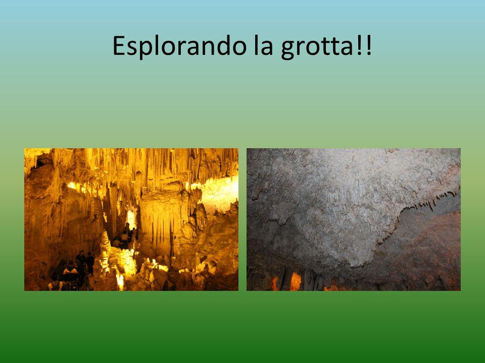 Esplorando la grotta!!