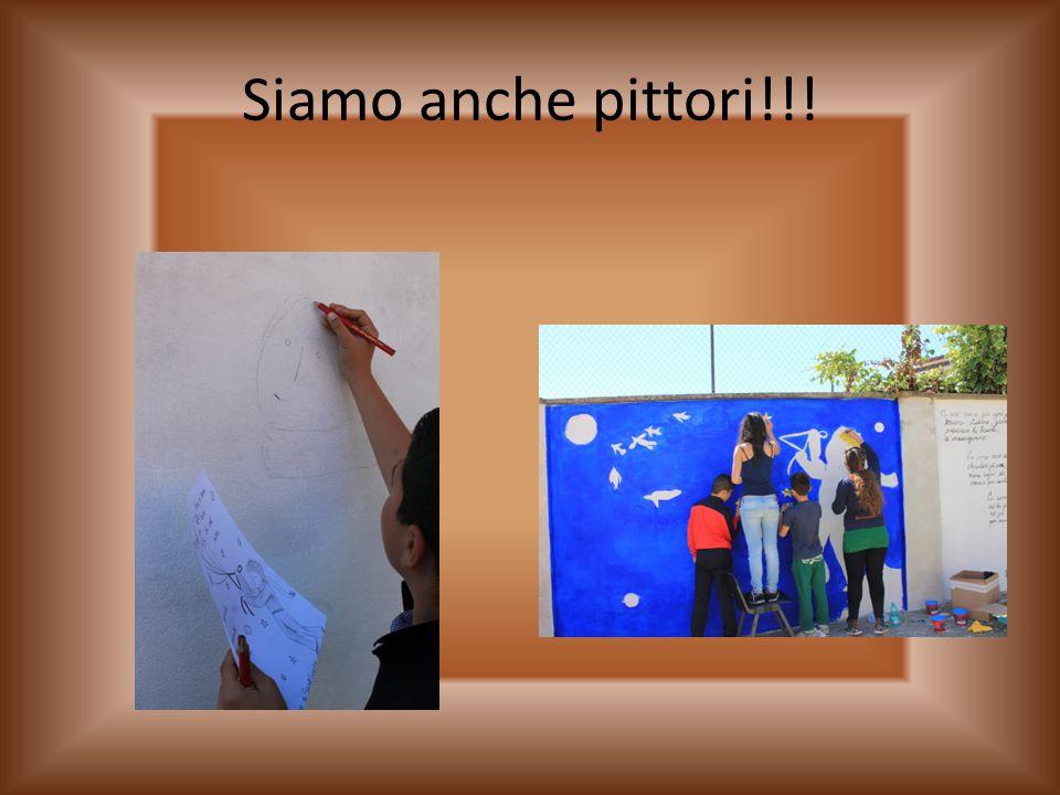 Siamo anche pittori!!!