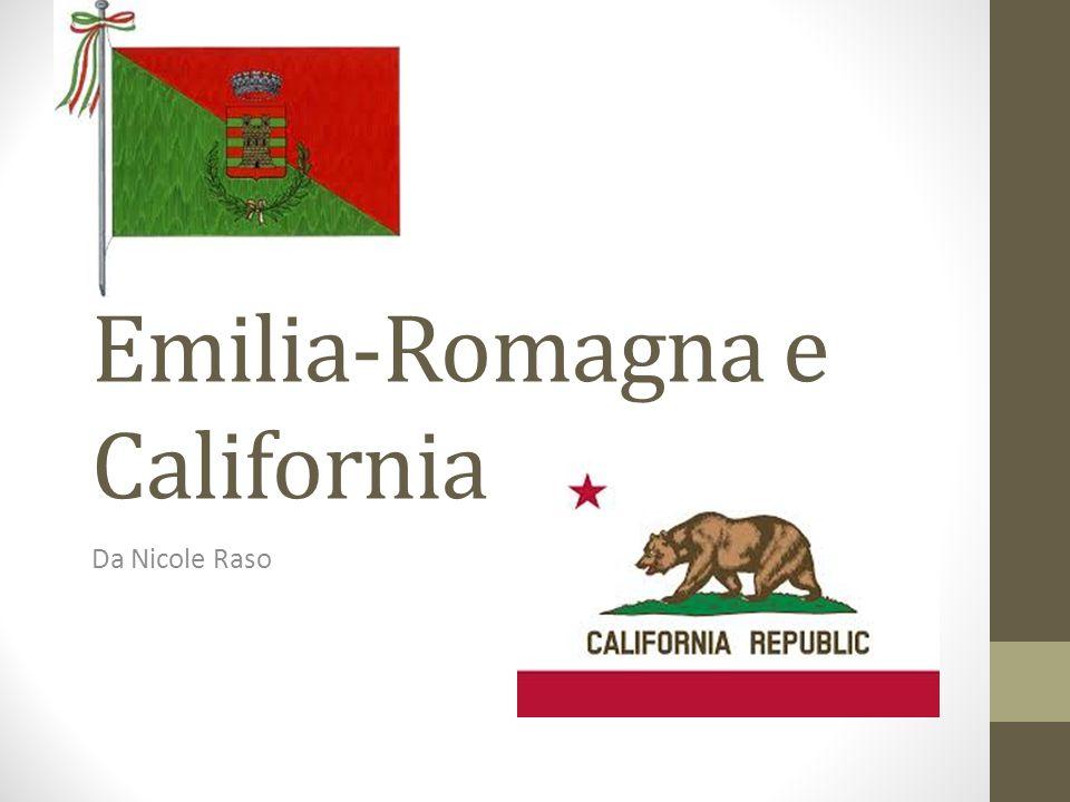 Emilia-Romagna e California Da Nicole Raso