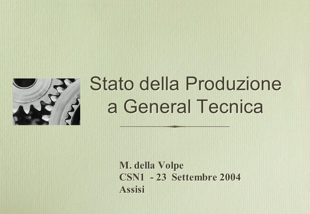 M. della Volpe CSN1 - 23 Settembre 2004 Assisi M.