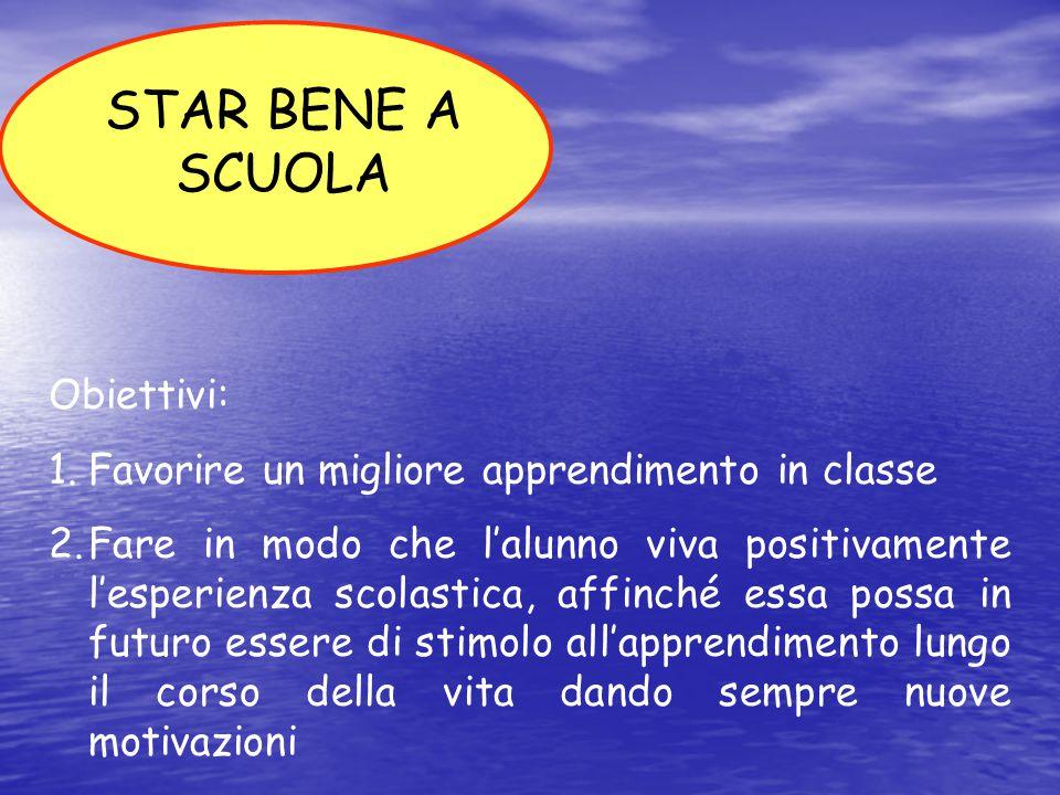 2. FISICO 1. EMOZIONALE 3. RELAZIONALE STAR BENE A SCUOLA