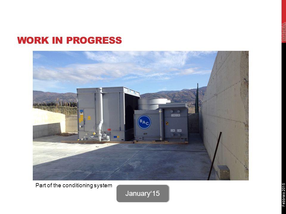 Febbraio 2015 WORK IN PROGRESS Sito STAR October '14 Hangar - Air conditioning system