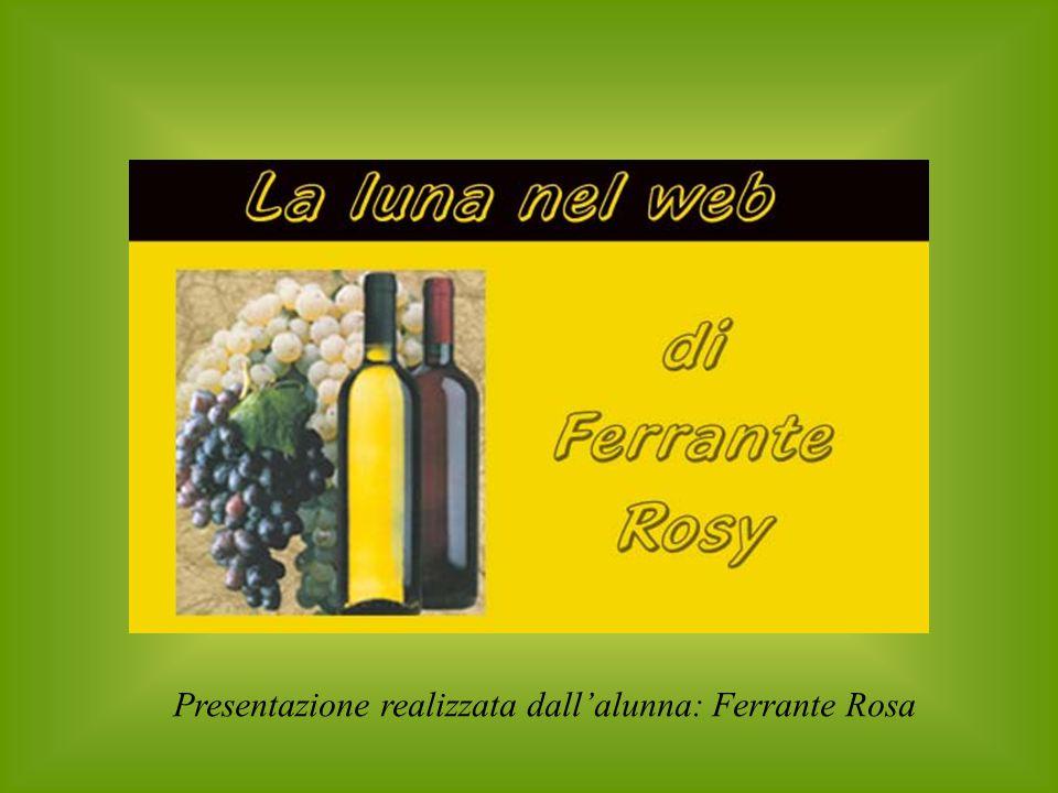 Presentazione realizzata dall'alunna: Ferrante Rosa