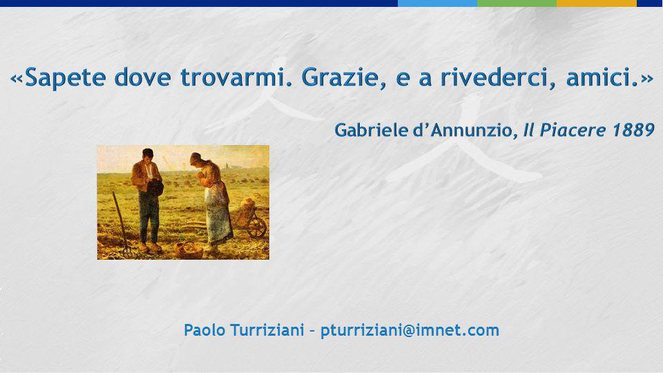 Paolo Turriziani – pturriziani@imnet.com