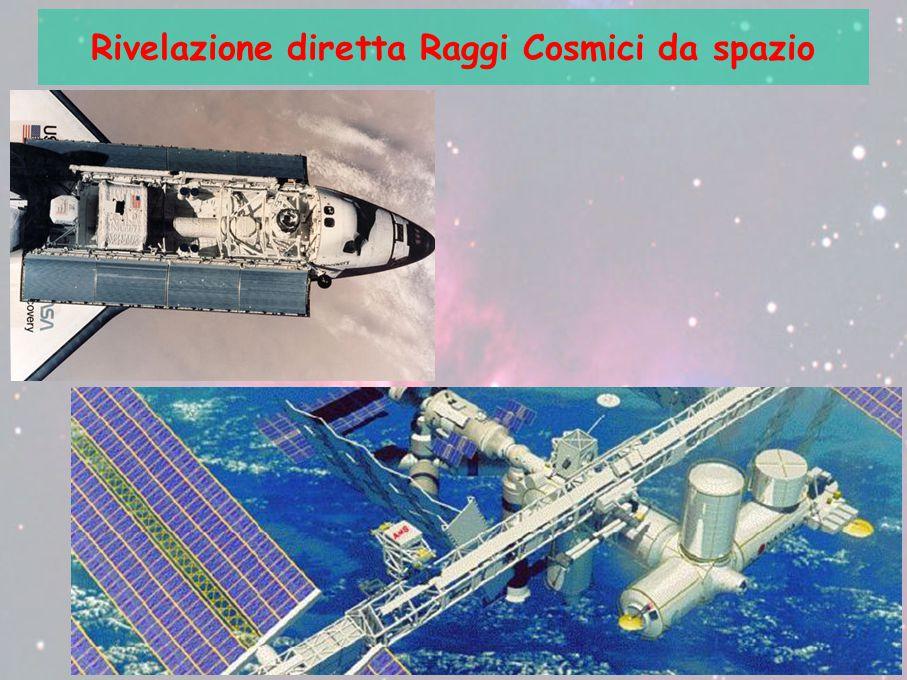 Rivelazione diretta Raggi Cosmici da spazio