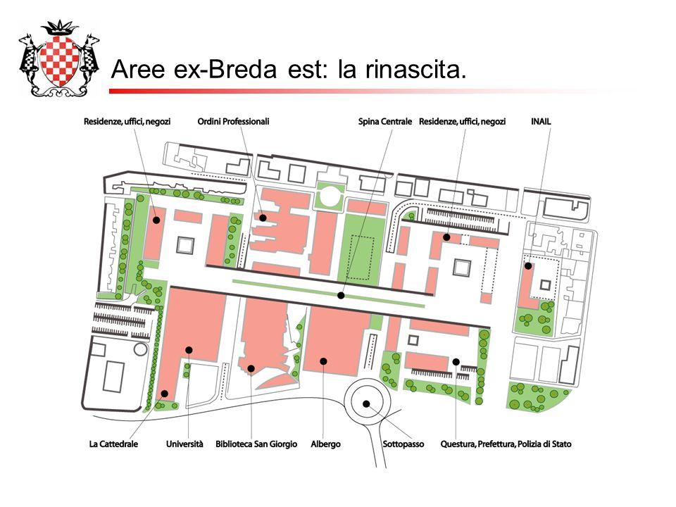 Aree ex-Breda est: la rinascita.