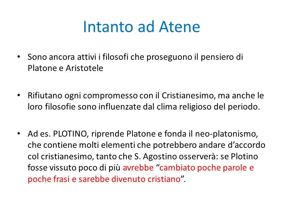 Il neoplatonismo e Plotino (Plotino: 204 d.C. – 270 d.