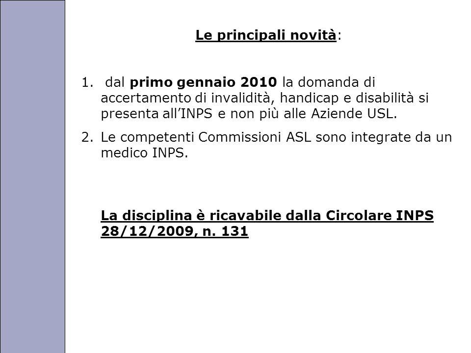 Università degli Studi di Perugia Le principali novità: 1.