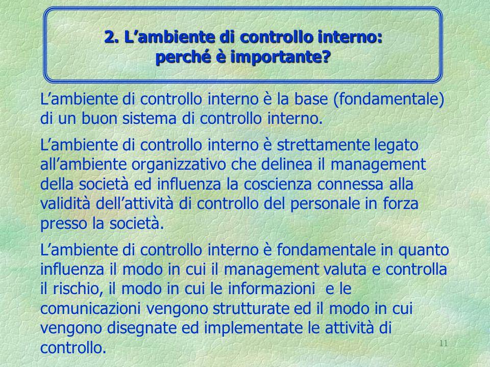 10 Domande chiave: 4 come il management della società identifica ed analizza i rischi connessi al proprio business.