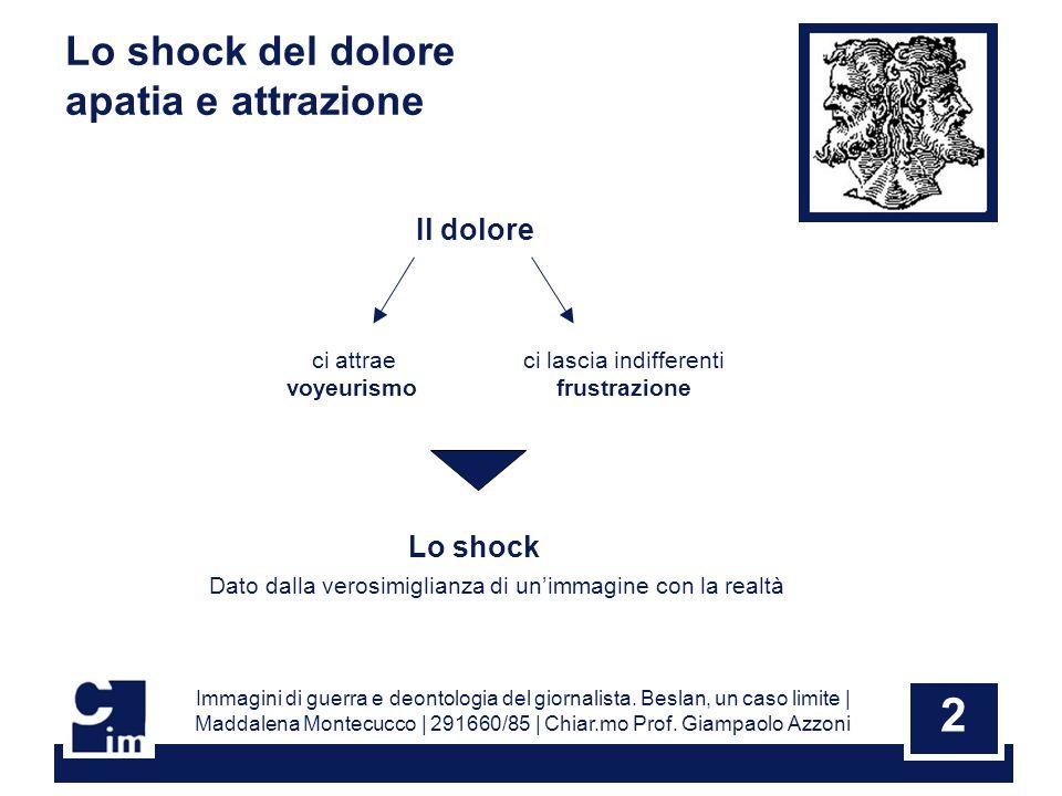 2 Immagini di guerra e deontologia del giornalista.