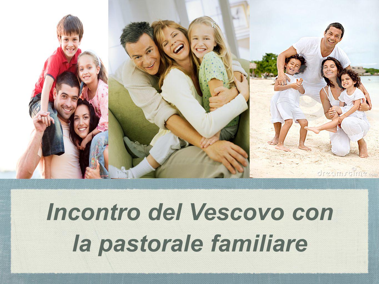 Incontro del Vescovo con la pastorale familiare