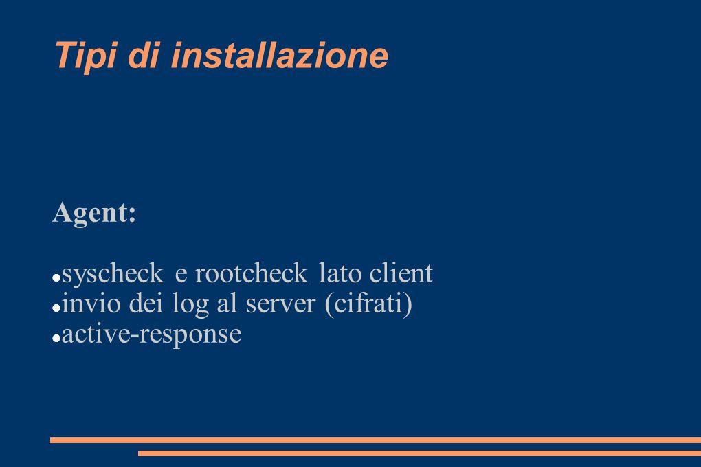 Alert via e-mail configurazione del livello di importanza di un evento in grado di generare l invio di una mail configurazione granulare dell invio delle e-mail
