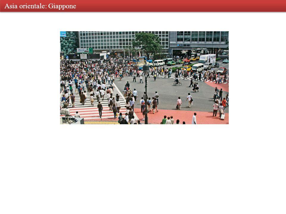 Asia orientale: Tokyo Asia orientale: Giappone