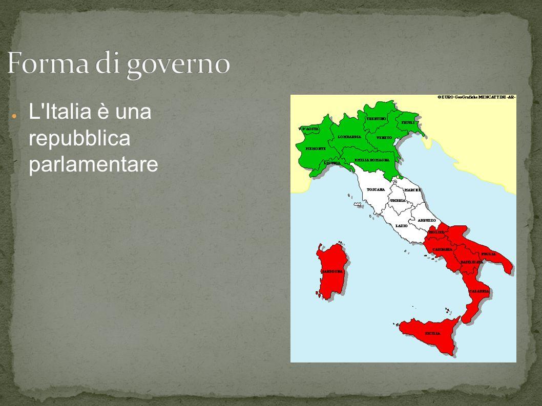 ● L'Italia è una repubblica parlamentare