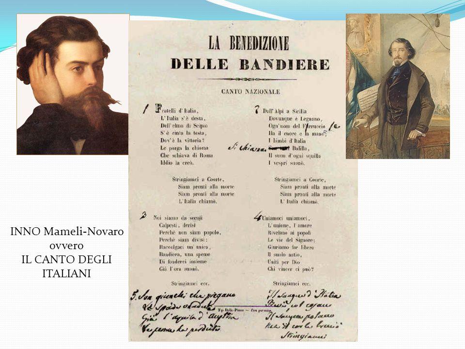 1797 Prima bandiera Repubblica Cispadana Dal 1848 Bandiera con stemma di casa Savoia Unità del Regno d'Italia 1946 scompare lo scudo Savoia: simbolo d