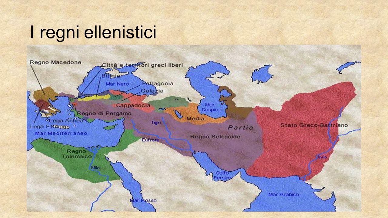 Il regno di Siria Stato asiatico (detto Regno di Siria) che si formò in seguito al disfacimento dell impero di Alessandro III°, fu governato dai Seleucidi, dinastia ellenistica di origine macedone che lo mantennero regalmente dal 305 al 64 a.C.