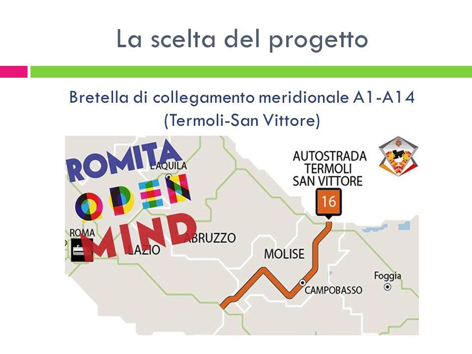 La scelta del progetto Bretella di collegamento meridionale A1-A14 (Termoli-San Vittore)