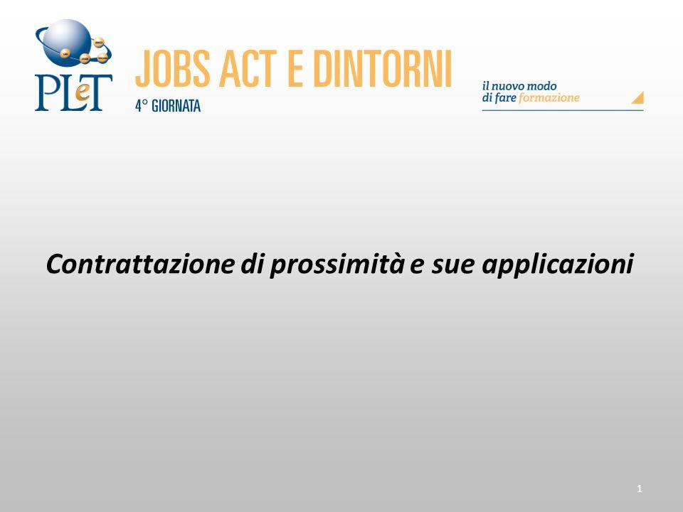 Contrattazione di prossimità e sue applicazioni 202 IL NEOREGIME SANZIONATORIO DEL LICENZIAMENTO DISCIPLINARE ART.