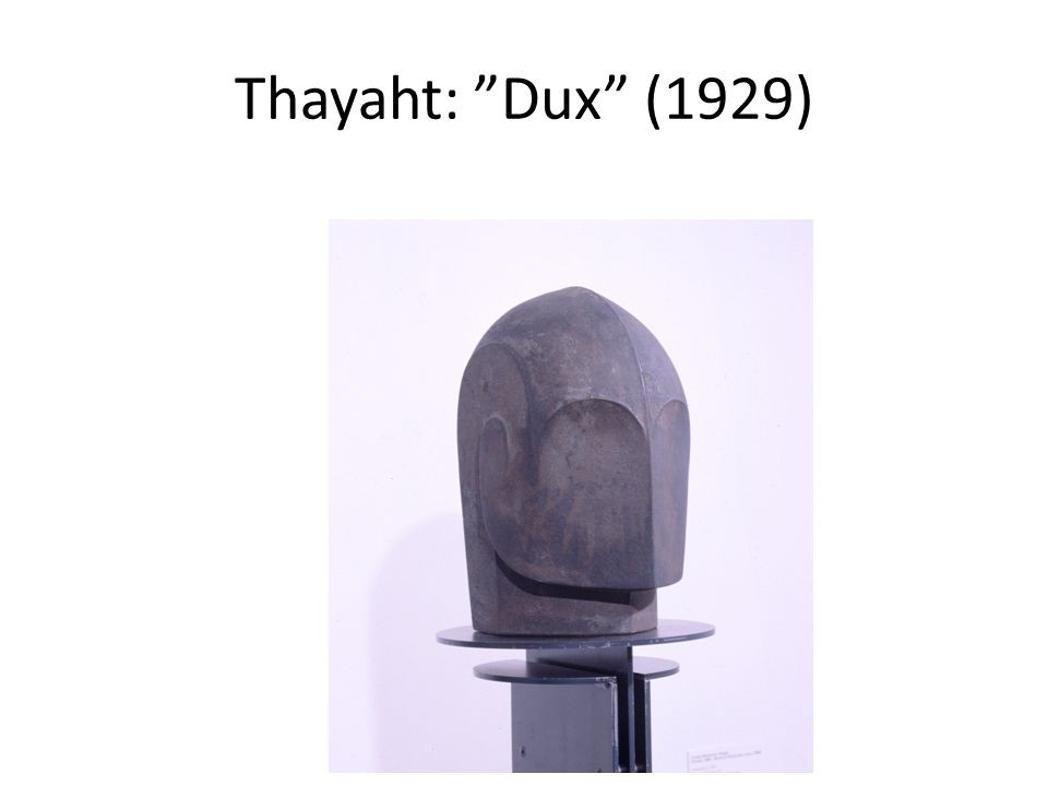 "Thayaht: ""Dux"" (1929)"