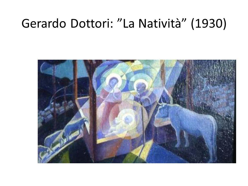 """Gerardo Dottori: """"La Natività"""" (1930)"""