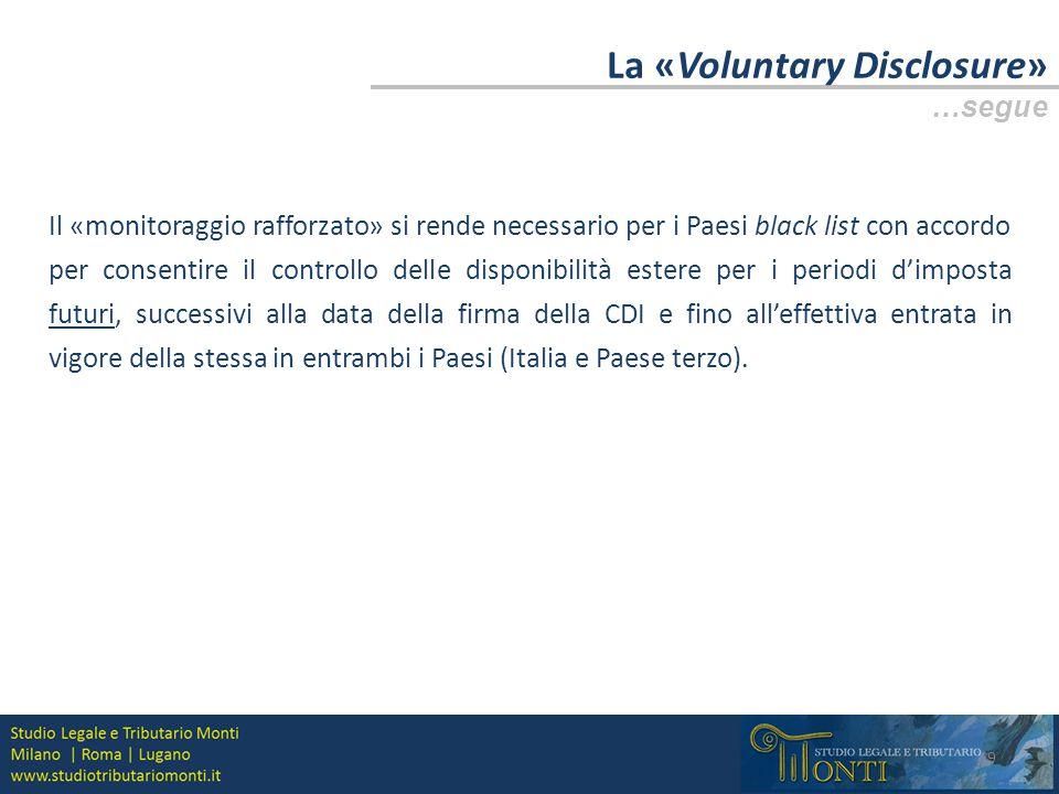 La «Voluntary Disclosure» La Convenzione di Strasburgo 10 La Convenzione multilaterale di Strasburgo, conclusa a Strasburgo aperta alla firma il 25 gennaio 1988 e in vigore dal 1° aprile 1995 (c.d.