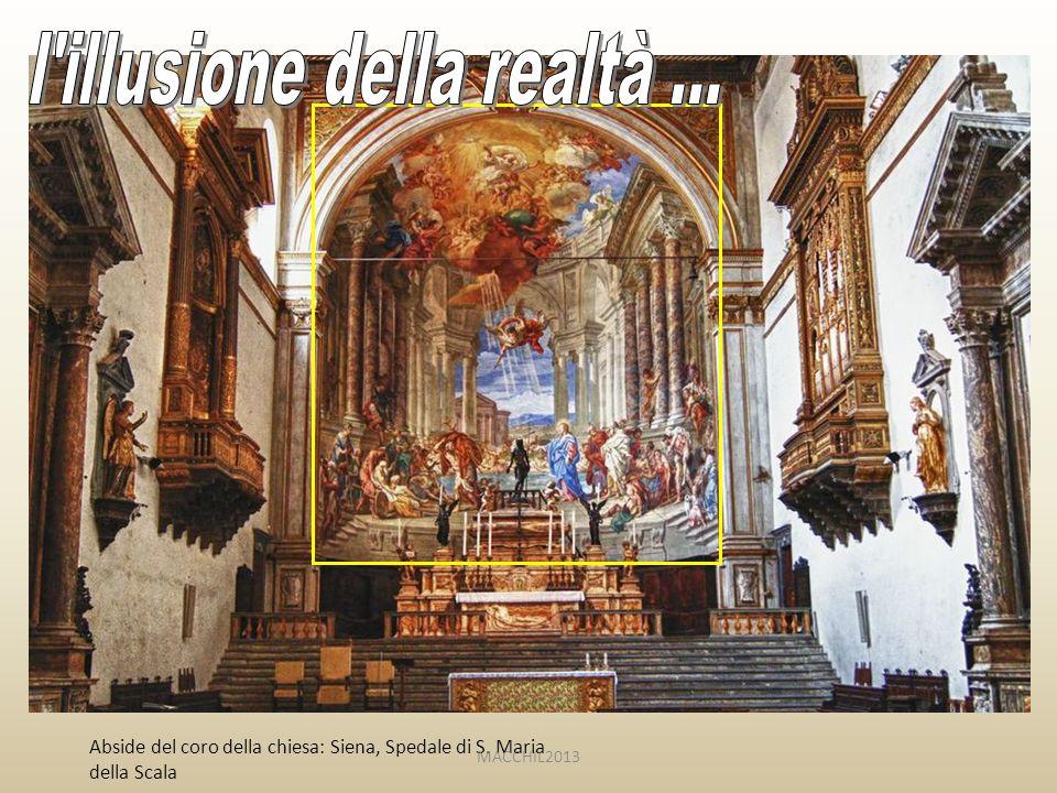 Abside del coro della chiesa: Siena, Spedale di S. Maria della Scala MACCHIL2013