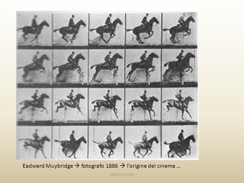 Eadwerd Muybridge  fotografo 1886  l'origine del cinema … MACCHIL2013