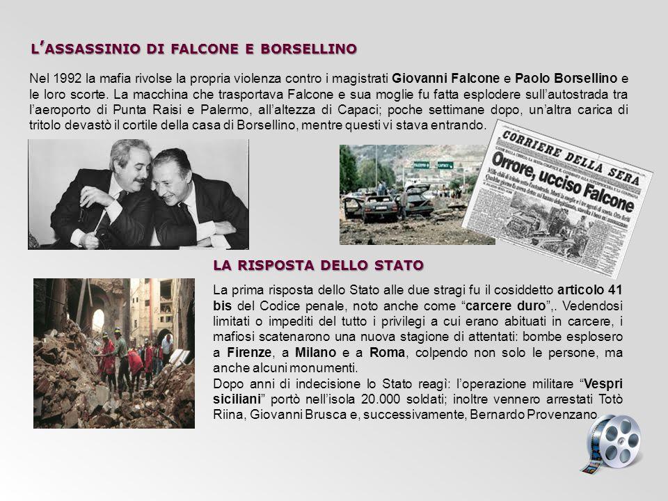 Nel 1992 la mafia rivolse la propria violenza contro i magistrati Giovanni Falcone e Paolo Borsellino e le loro scorte. La macchina che trasportava Fa