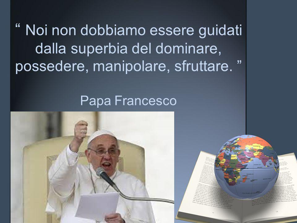 """""""Il cibo che si butta via è come se venisse rubato dalla mensa di chi è povero"""". Papa Francesco"""