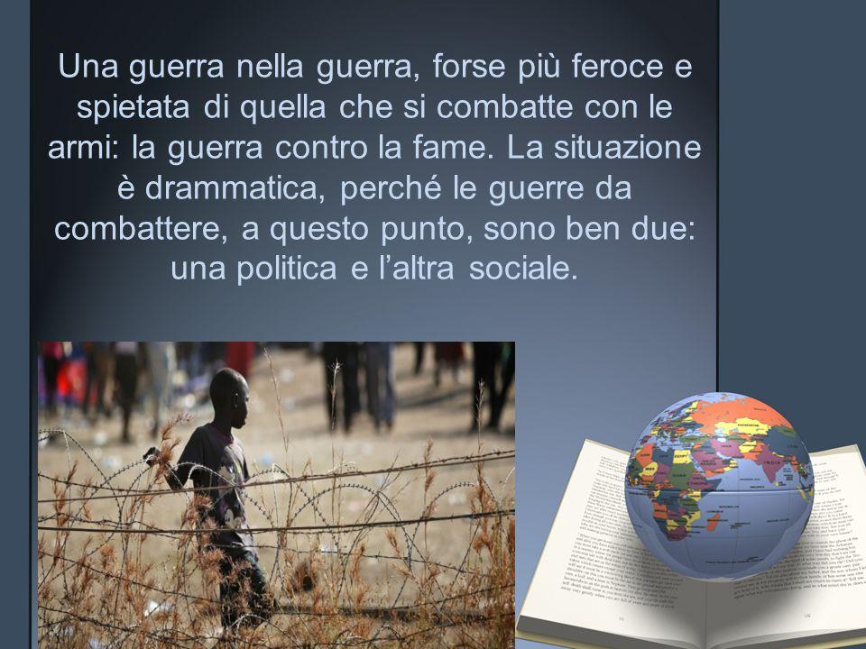 """""""Senza pace non può esserci sviluppo"""""""