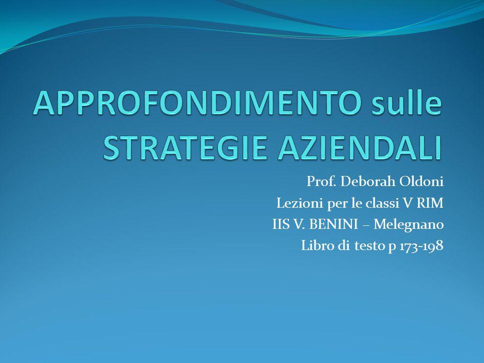 Prof. Deborah Oldoni Lezioni per le classi V RIM IIS V. BENINI – Melegnano Libro di testo p 173-198